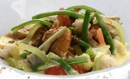 La recette du mois-Kari de lapereau à la bohémienne